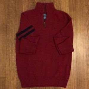 Polo by Ralph Lauren Shirts & Tops - Polo by Ralph Lauren Quarter Zip Youth Sweater